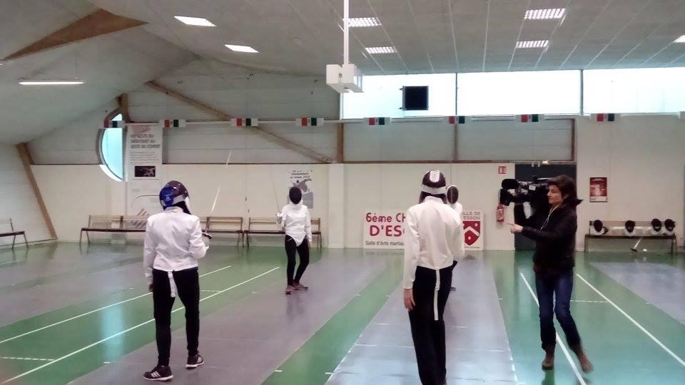 Présentation du cours sport-santé escrime au club Olympique Cesson Escrime RENNES-Est