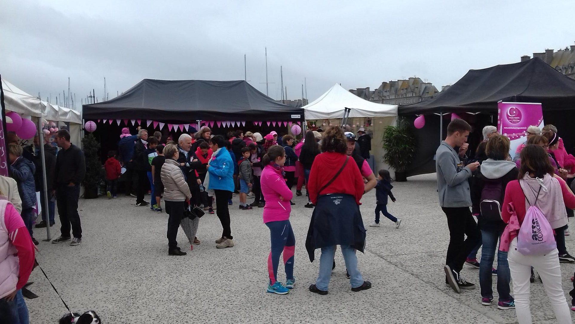 Journée Rose à Saint-Malo