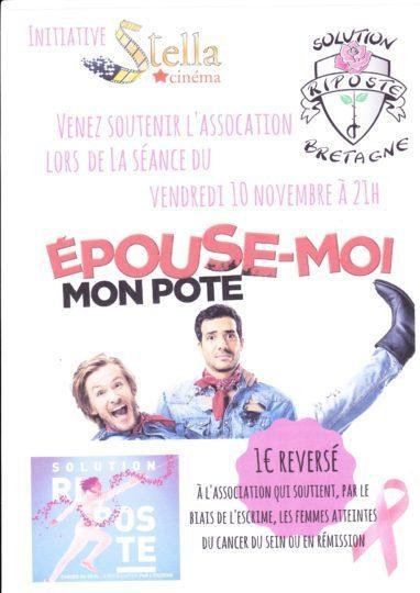Cinéma : « Epouse-moi mon pote » le 10 novembre à Janzé