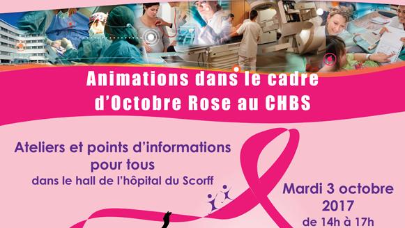 Octobre rose au Centre Hospitalier de Bretagne Sud