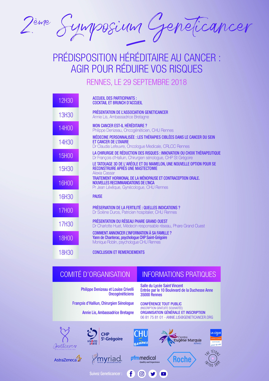Symposium Généticancer