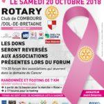 Journée rose à Combourg
